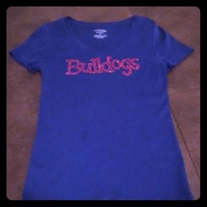 Embellished Bulldogs Tee